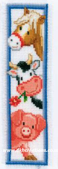 Farm Animals Bookmark