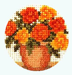 Florals Cross Stitch