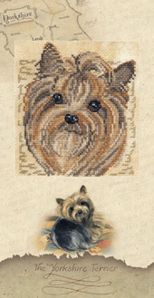 The Yorkshire Terrier Cross Stitch Kit