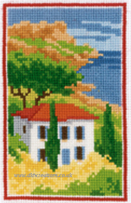Tuscan Landscape Cross Stitch Kit